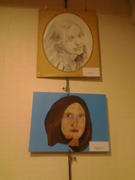 Art student showcase