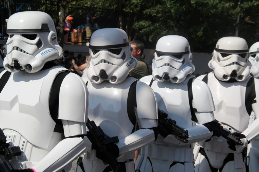 Storm troopers from Star Wars
