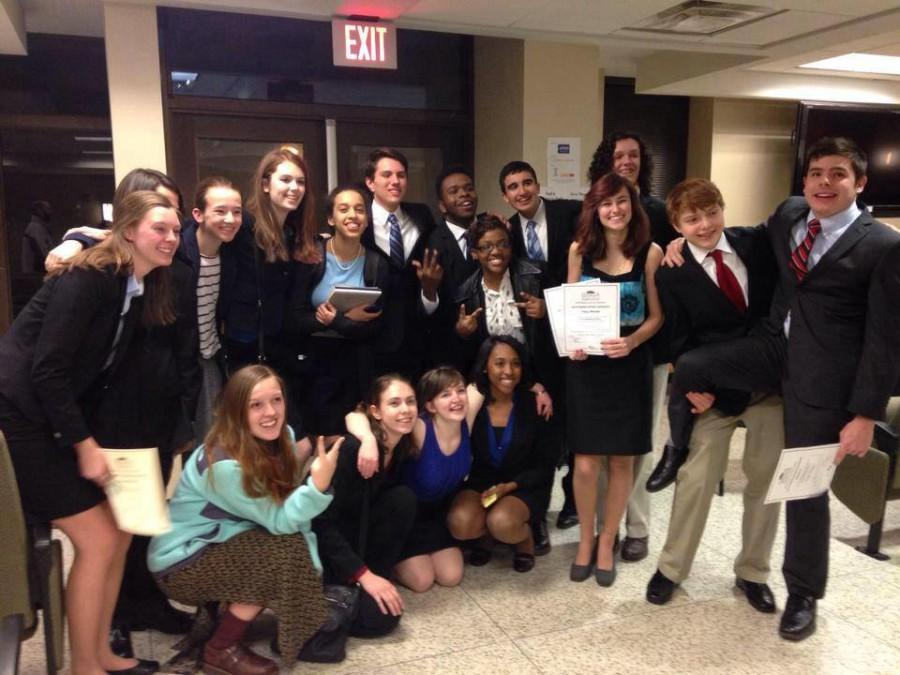 Decatur's mock trial team qualified for the state competition.