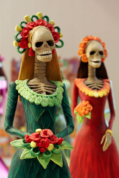 The Atlanta History Center celebrates Dia de los Muertos with storytelling, crafts, food, entertainment, and the display of altars that are decorated with flowers, foods, and beverages, honoring the lost family and friends.