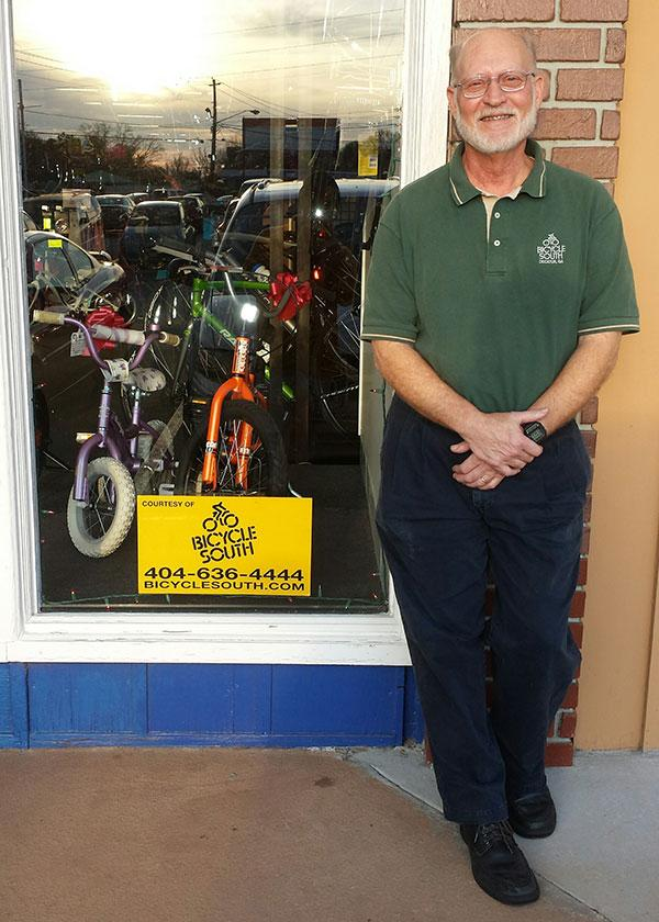 Fred Boykin leaves Bicycle South this Dec.