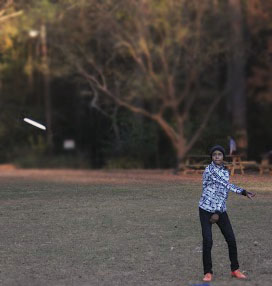 """I love the community and how nice everyone is. I just really love playing ultimate,"" said Decatur player ""Savage Suli."""