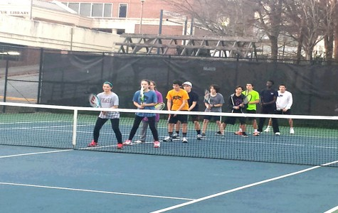 Girls tennis team swings into new season