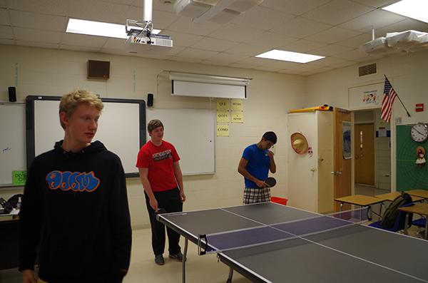 Ping pong club grows after winning grant