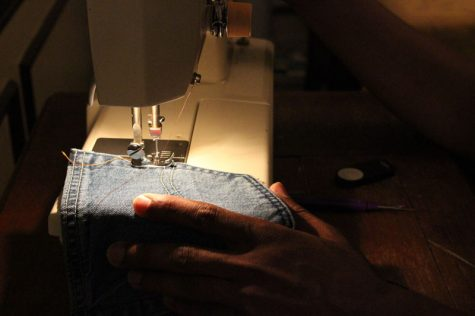 """According to Byars, sewing, like most skills is all about practice. Byars wants to """"make a million ideas"""" to hone his skill until he finds finds that perfect idea."""