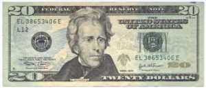 In the new currency, Andrew Jackson will be moved to the back of the $20 bill, with Harriet Tubman on the front of it