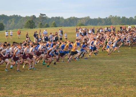 Over the weekend of August 27th, 2016, the Cross Country team participated in a meet against many other schools.
