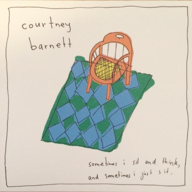 The cover of Courtney Barnett's debut album released in 2015.