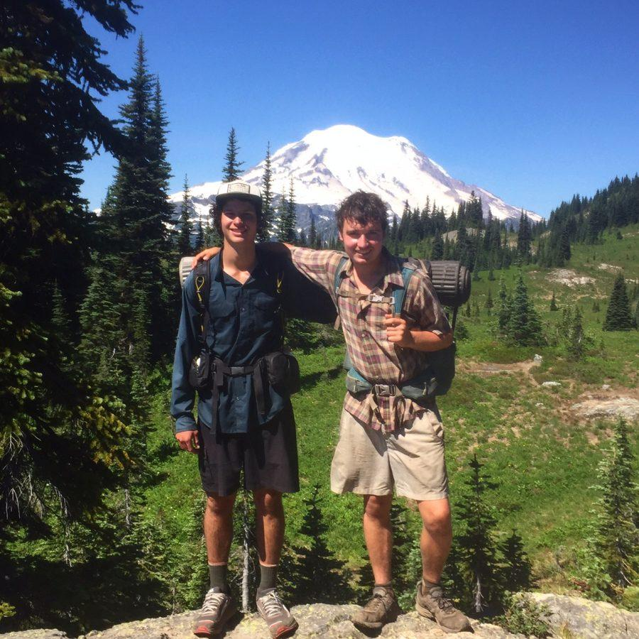 Luke+Jackson+%28right%29+and+Will+Wynne+%28left%29+on+their+2%2C650+mile+journey+up+the+Pacific+Crest+Trail