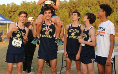 Decatur cross-country wins region championships