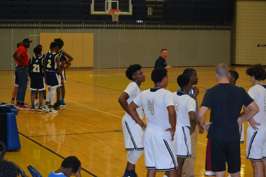 Blue & Gold game showcases basketball talent