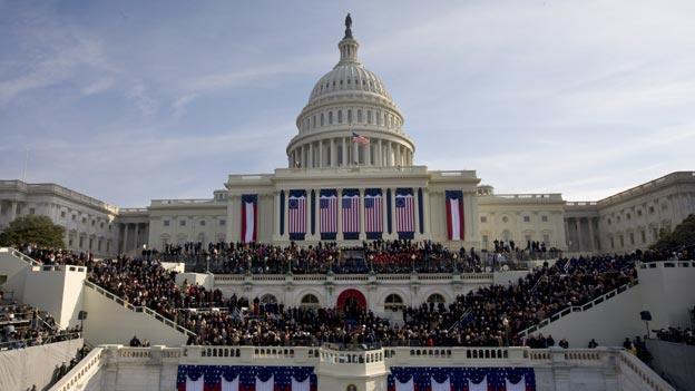 Seeing the Trump inauguration CloseUp