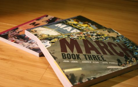 John Lewis releases gripping final book in 'March' trilogy