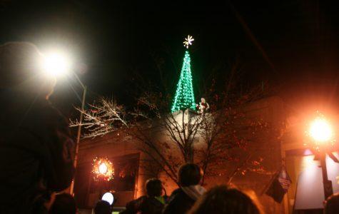 Tree Lighting Ceremony held on the Square