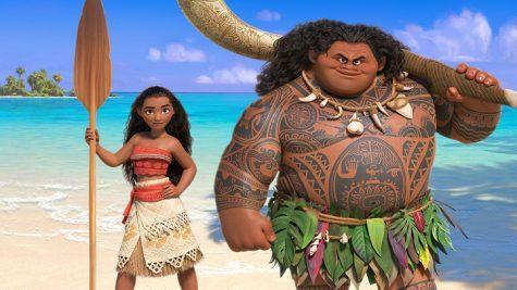 Maui treated Moana like a younger sister, and Moana looked up to Maui.