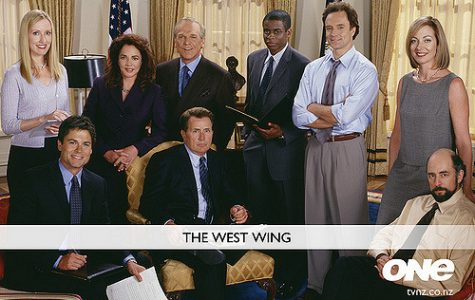 The cast of The West Wing. The show won 27 Emmys in its seven-season run.