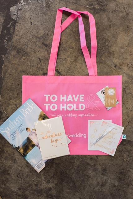 Each party guest were given a swag bag where they can fill up with gifs from vendors.