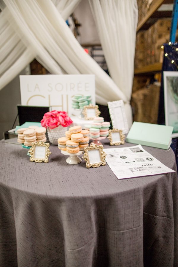 Macarons were offered by La Soiree Chic Events based in Loganville.