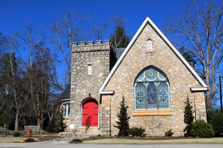 The Moore Chapel was built in 1906 and is not protected by Georgias historic registry. Photo by Taylor Stephenson