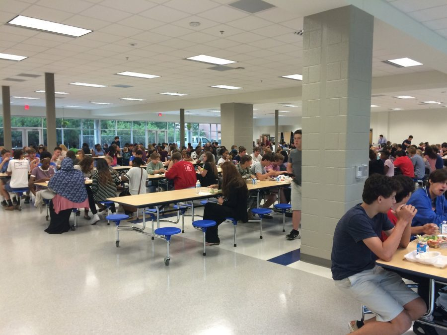 Decatur High's new cafeteria opened on Monday, Aug. 22, after months of construction on a new addition to the high school.