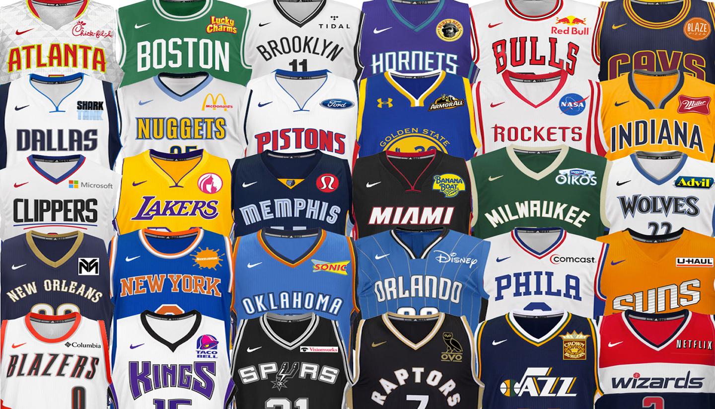 Ranking the new NBA uniforms – 3TEN a1a788884
