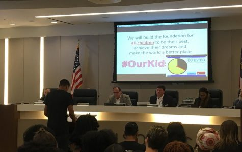 Students Step Up at Board Meeting