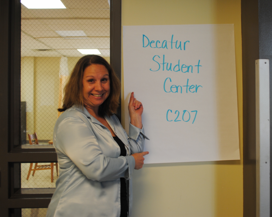 The Decatur Student Center was created in order to help students get through high school. It's located in room 207 of the career building.