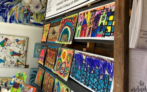 Wild Oats and Billy Goats showcases student art