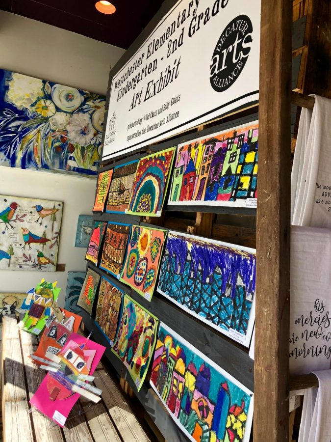 We were trying to think of ways we could do a little community outreach, so what would be better than to highlight our very own artists from the City of Decatur, Jacobs said.