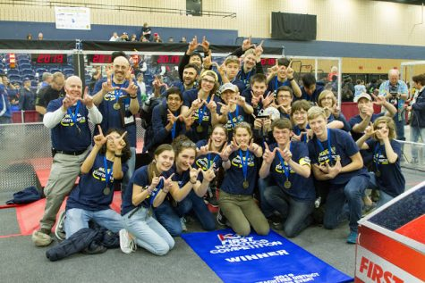 Decatur robotics team makes it to world championships