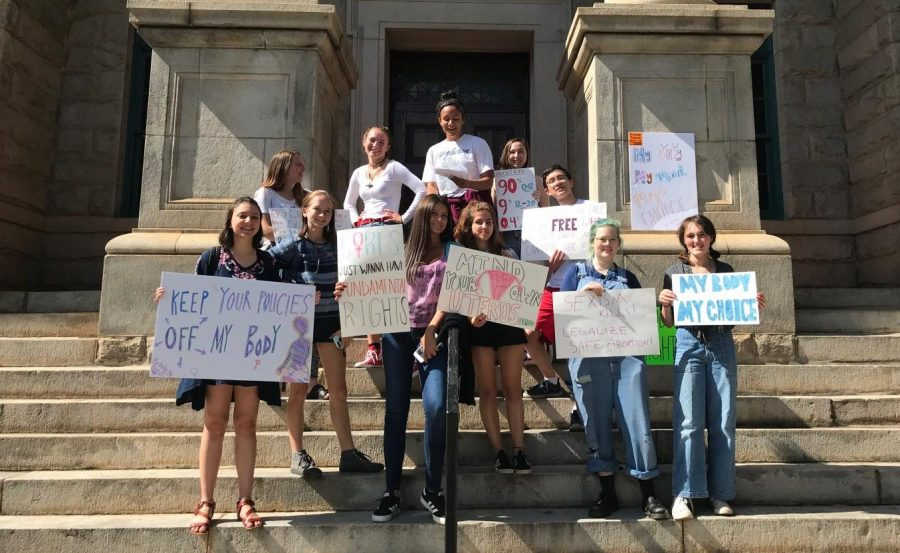 Students protest Georgia's Heartbeat Bill