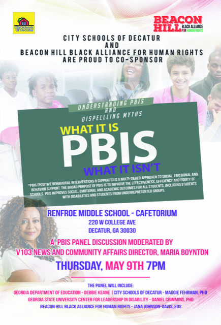 Beacon Hill and CSD host PBIS town hall
