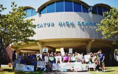 50+ DHS students participate in climate strike