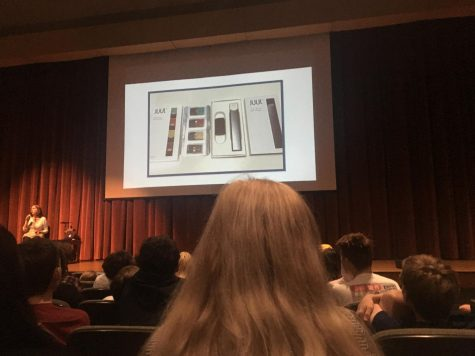Decatur High School addresses vaping addictions in student assembly