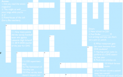 Answers to Oct. '19 Carpe Diem crossword puzzle