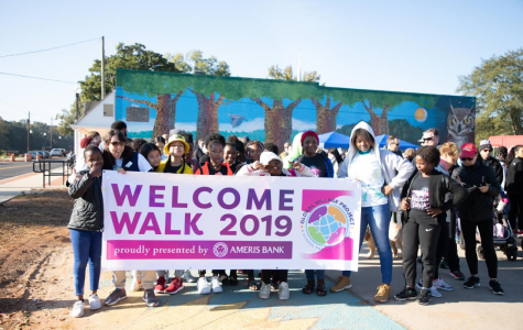 Global Village Project support refugee girls with annual walk