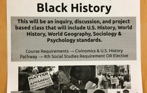 Next year, for the first time, DHS will offer a black history course.