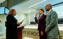 Jana Johnson-Davis elected and sworn in as school board member