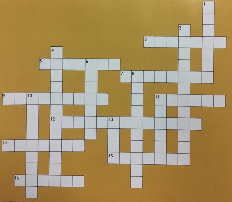 Answers to Jan. 2020 Carpe Diem crossword puzzle