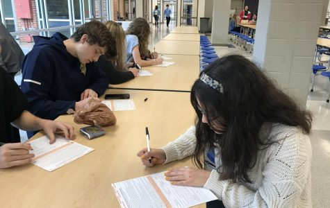 UPDATE: SGA holds voter registration drive at Decatur