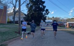 The long distance runners tried out at Legacy Park from Jan 11th to Jan 15th.
