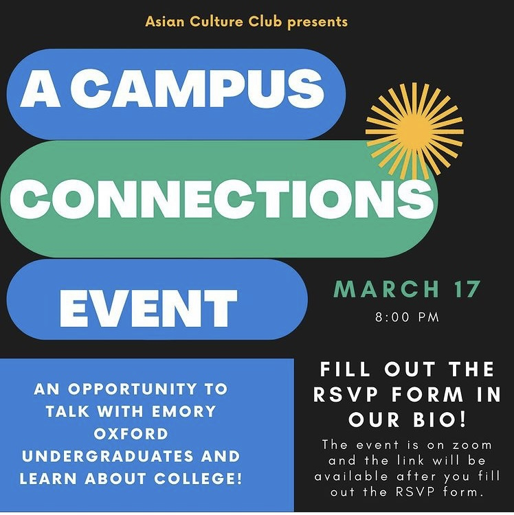 Asian Culture Club hosts Campus Connections event